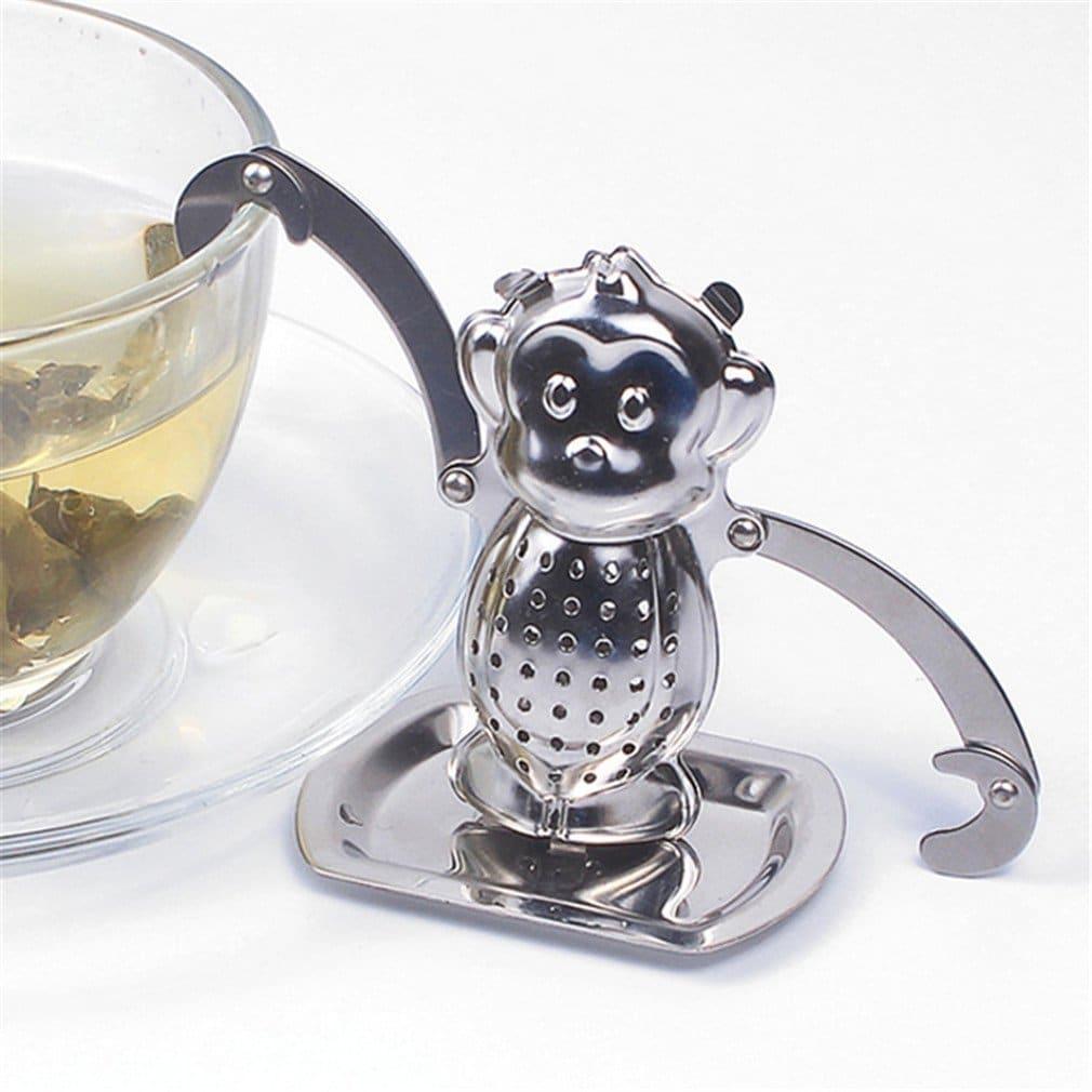 Boule à thé singe insolite