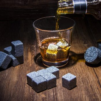 Pierres à whisky insolite