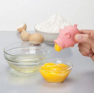 Séparateur d'oeufs cochon insolite