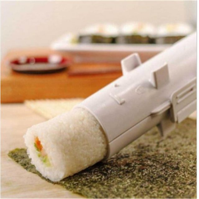 Sushi bazooka insolite