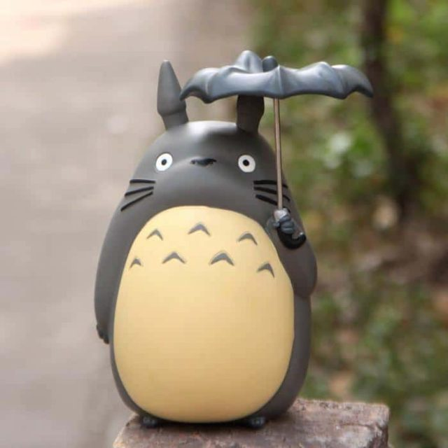Figurine tirelire Totoro