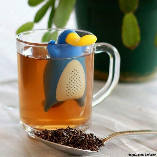Boule à thé insolite