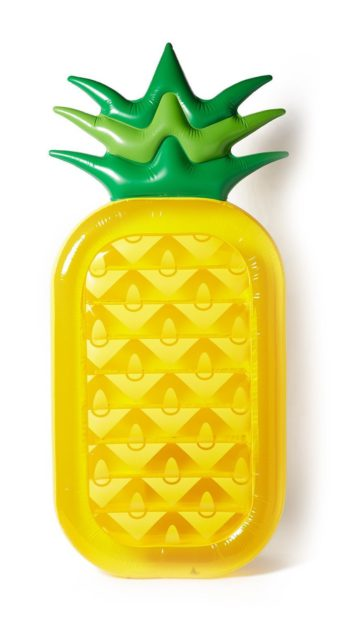 Matelas insolite ananas