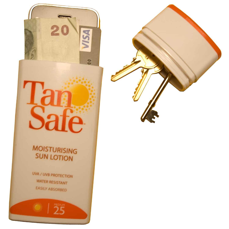Crème solaire insolite
