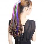 Extensions de cheveux lumineuses
