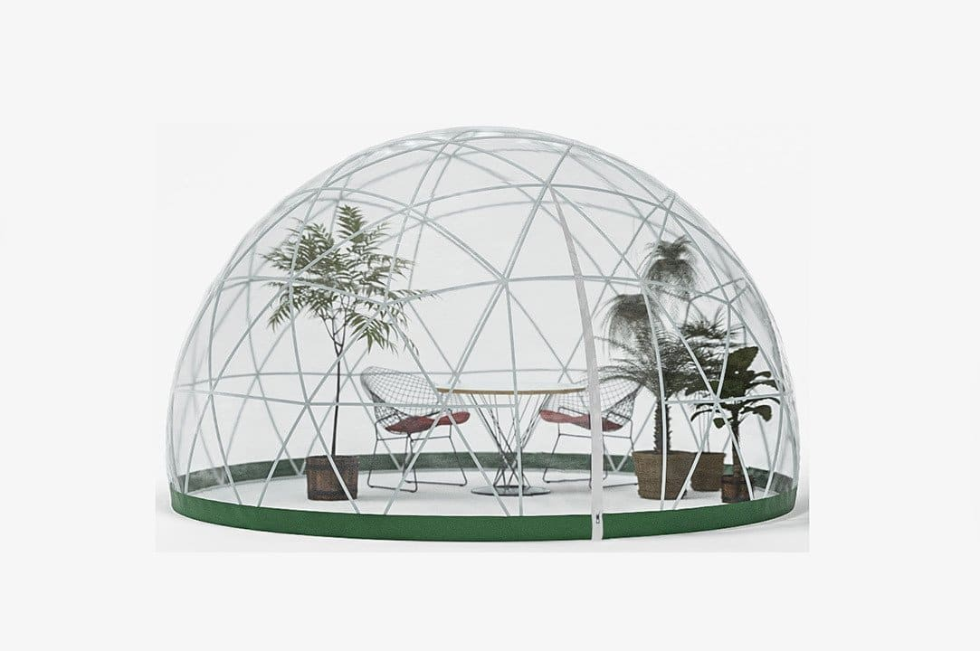 Garden Igloo, tente de jardin insolite