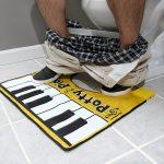 Piano pour toilettes