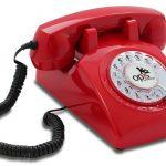 Téléphone rétro années 1960
