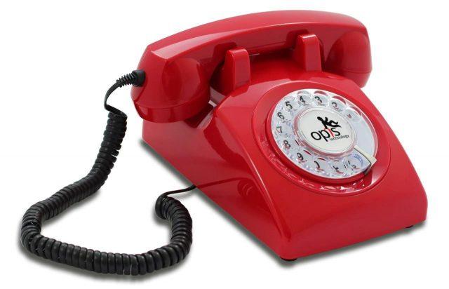 Téléphone rétro insolite