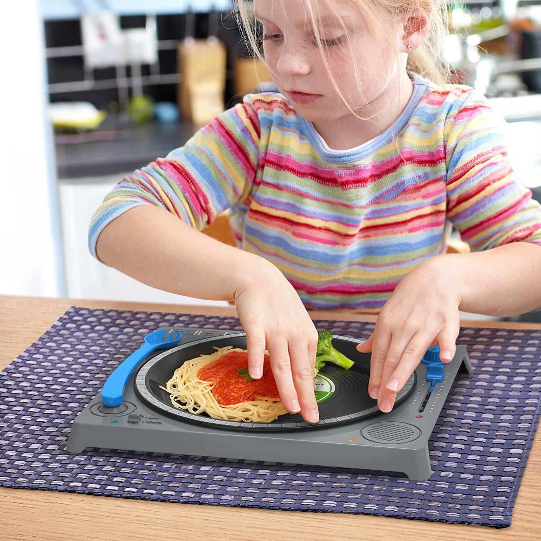 Assiette DJ pour enfants original