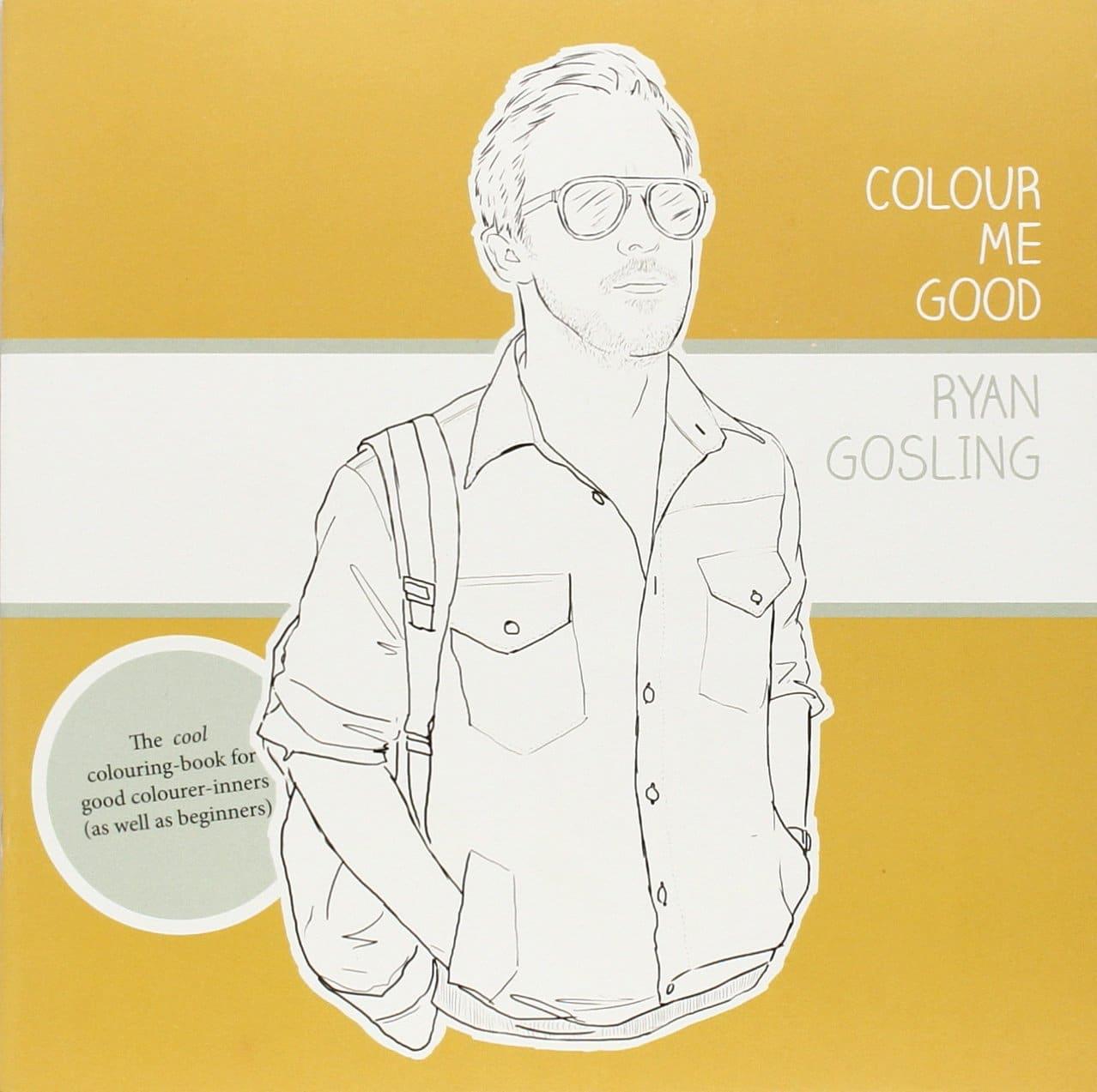 Cahier de coloriage Ryan Gosling