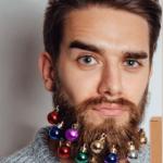 Décorations de Noël pour barbe