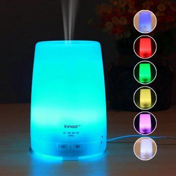 Diffuseur d'huiles essentielles à LED insolite