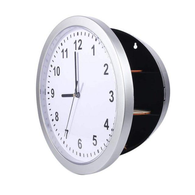 Horloge coffre-fort insolite
