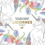 Cahier de coloriage licorne