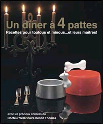 Livre de recettes de cuisine pour animaux original