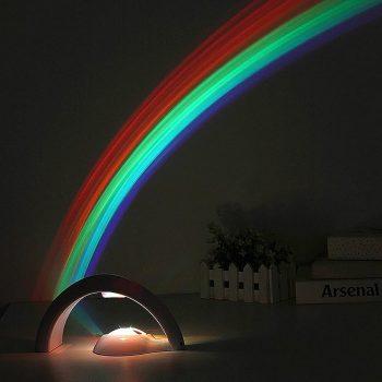 Projecteur d'arc en ciel insolite