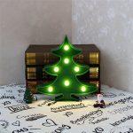 Veilleuse à LED sapin de Noël