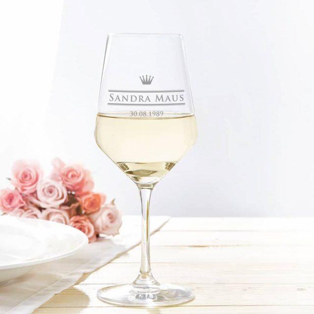Verre de vin personnalisable insolite