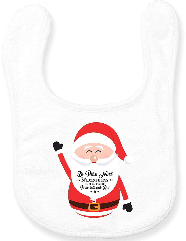 Bavoir Noël bébé insolite