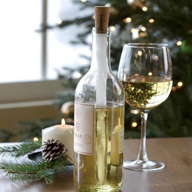 Gadget Refroidisseur de vin insolite