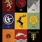 Affiche encadrée Game of Thrones