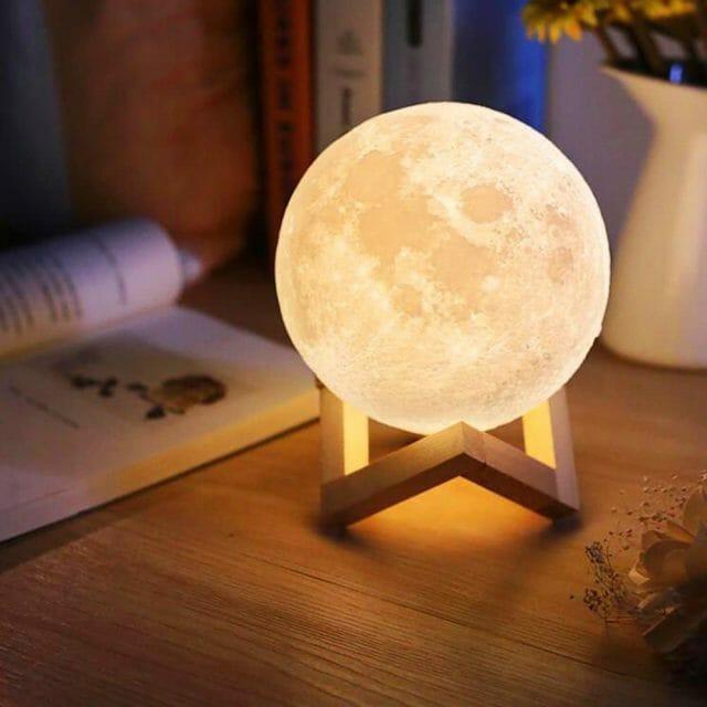 Lampe 3D lune gadget original