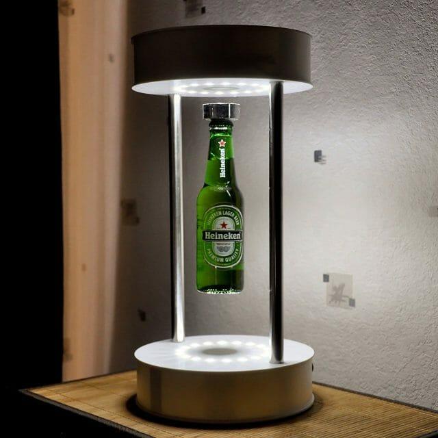 Porte-bouteille lévitation Flying Bar gadget original