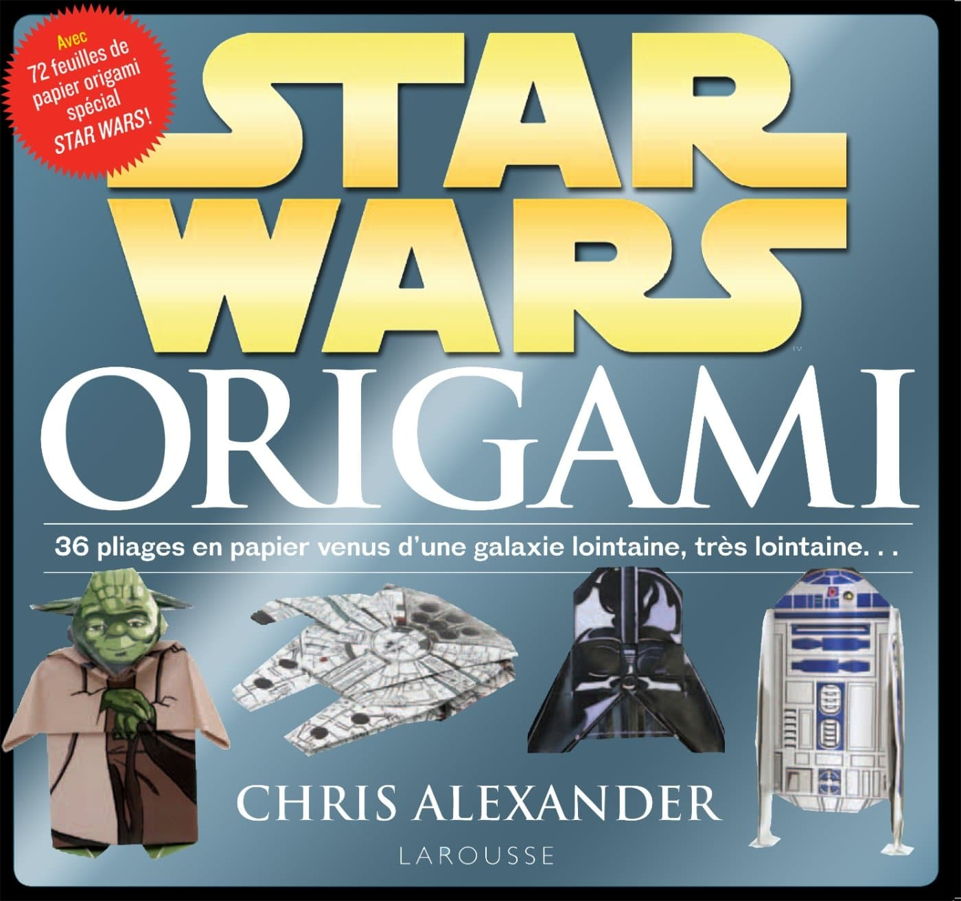 Star Wars Origami livre geek original