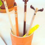 Crayons animaux de la forêt