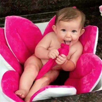 Fleur de bain bébé objet original