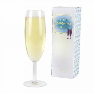 Flûte à champagne géante insolite