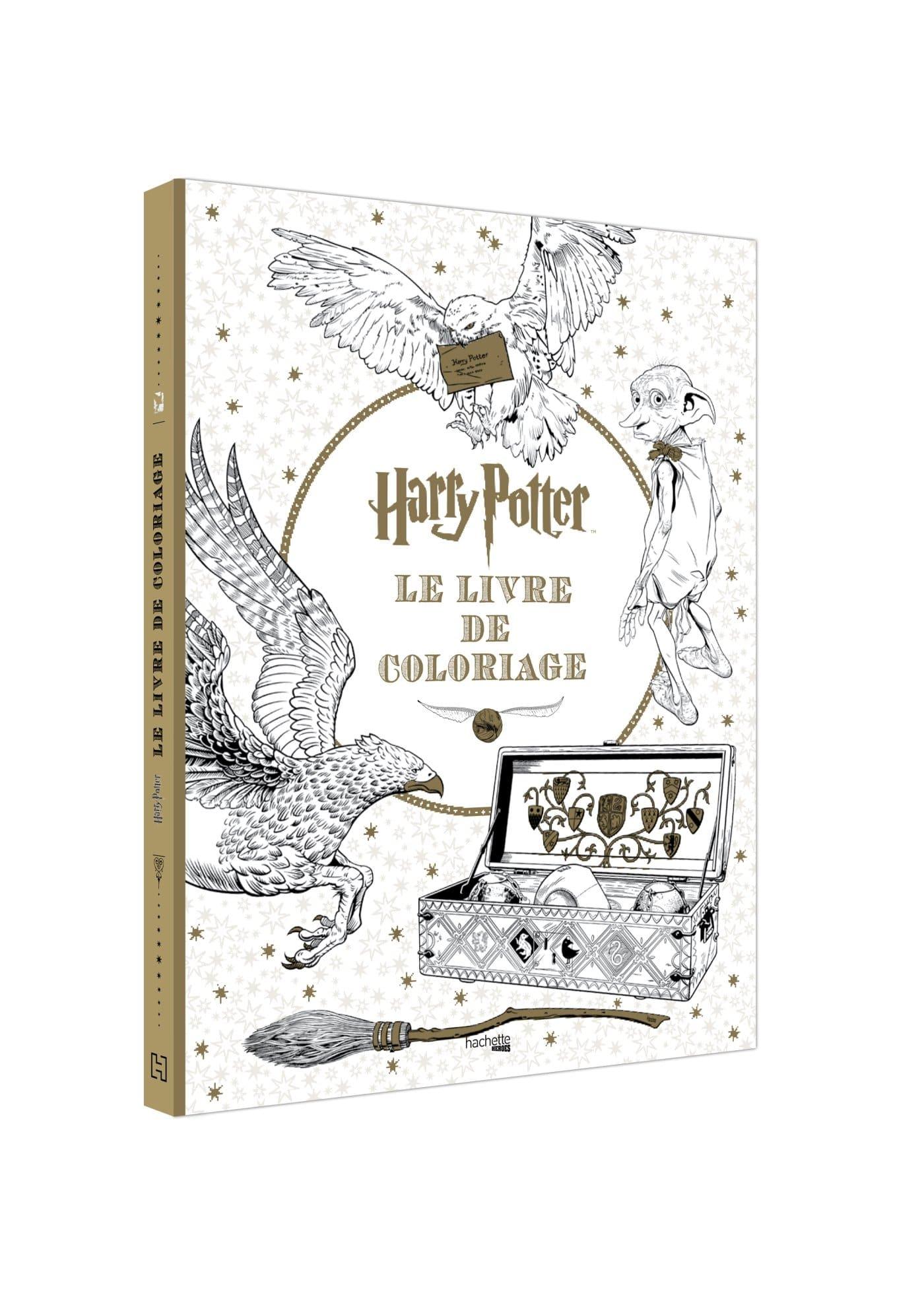 Livre de coloriage Harry Potter geek insolite
