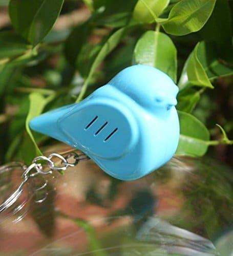 Porte-clé oiseau chercheur gadget insolite