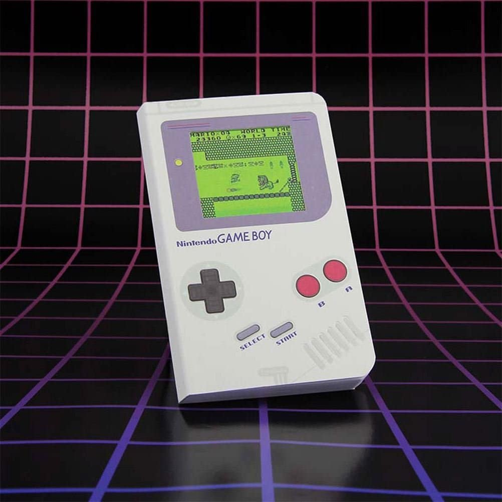 Carnet de notes Game Boy