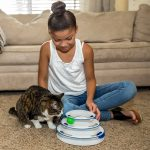 Circuit avec balles pour chat Easyology Pets