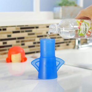 Nettoyeur de four à micro-ondes insolite gadget