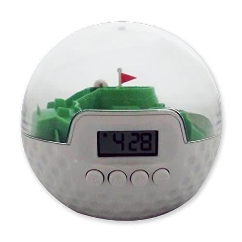 Réveil avec parcours de golf gadget original
