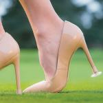 Embout pour chaussures à talons pour femme
