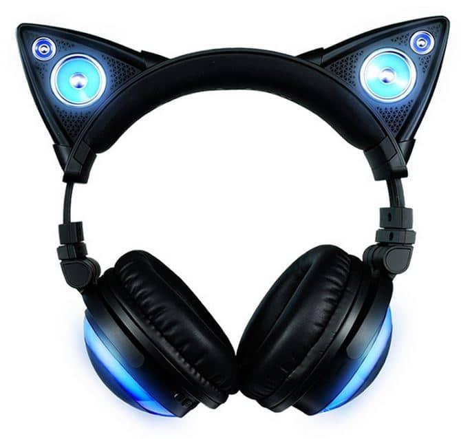 casque audio oreilles de chat axent wear objet geek mr etrange. Black Bedroom Furniture Sets. Home Design Ideas