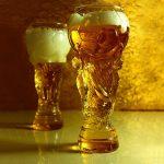 Chope à bière Coupe du Monde