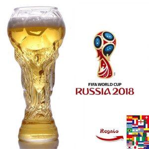 Chope à bière Coupe du Monde insolite