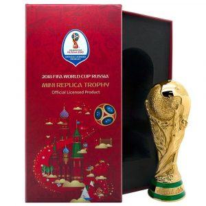 Mini-réplique de la Coupe du Monde décoration insolite