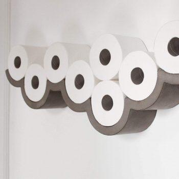 Etagère pour papier toilette Cloud insolite maison