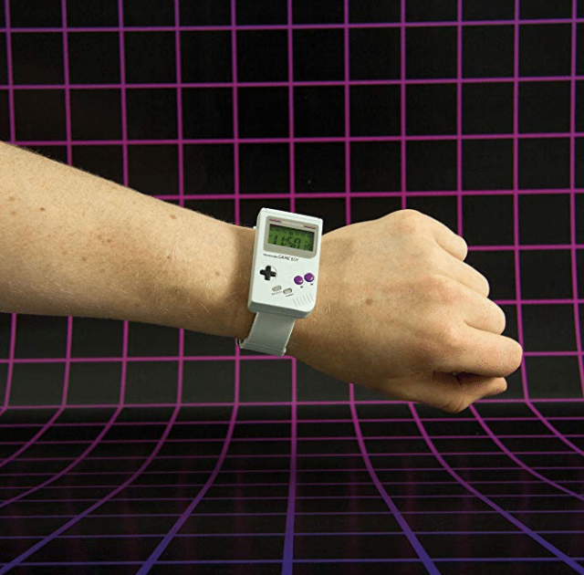 Montre Nintendo Game Boy insolite