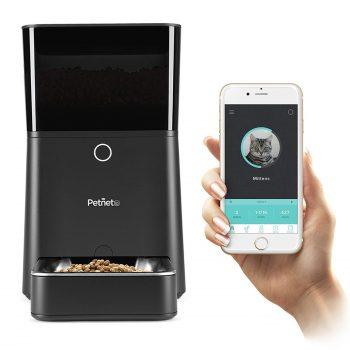 Petnet SmartFeeder : distributeur automatique de croquettes animaux insolite