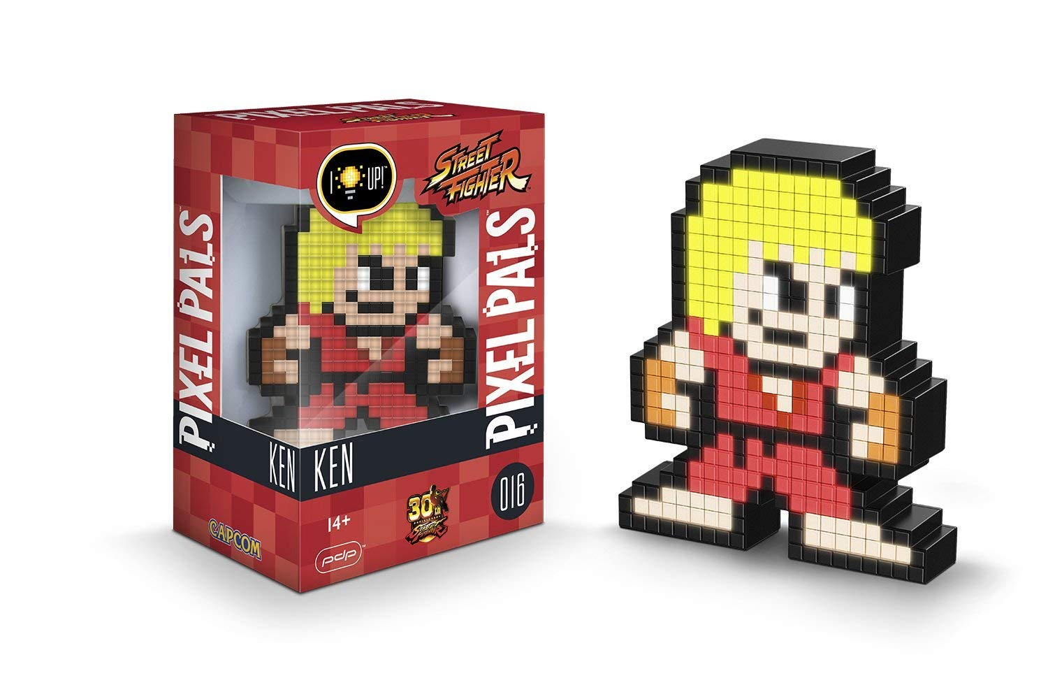 Pixel Pals Ken Street Fighter geek insolite