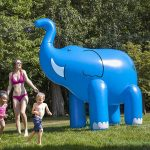 Arroseur de jardin éléphant