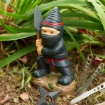 Nain de jardin ninja