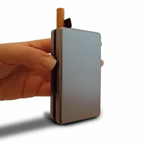 Etui à cigarettes automatique gadget insolite